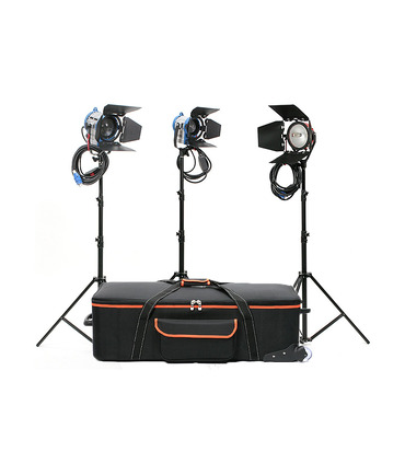 Kit Studio Lights Junior 650W+300W+RedHead 800W