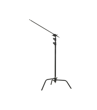 C-Stand 330 cm with boom arm - black