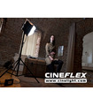 Studio LED Light Panel Flexible Kit CineFLEX L Bi-Color - In Use