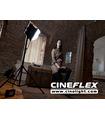Studio LED Light Panel Flexible Kit CineFLEX L Bi-Color - In Use