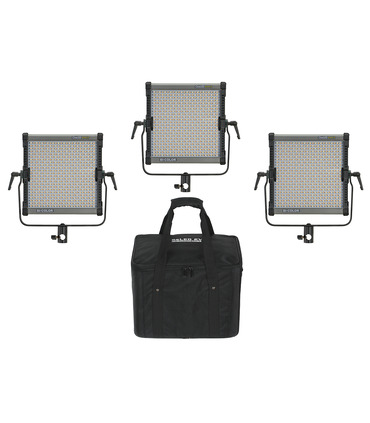 Studio LED Panels Kit 3 x CineLED EVO S Bi-C