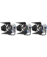 Tungsten Light Pack 3 x Junior Fresnel 2000W