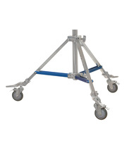 Light Stand Accessory - Wheels 25x25mm square leg