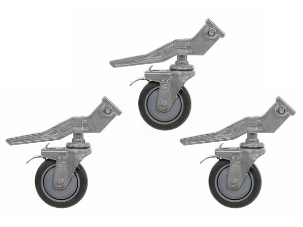 Wheels for Light Stand - 25x25mm square leg diameter