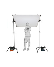 Video Studio Butterfly 200 x 150 cm