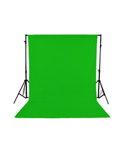 Green Studio Backdrop 3x6 m