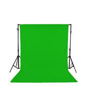 Green Studio Backdrop 3x6 m