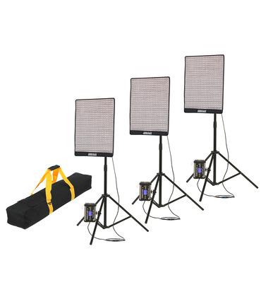 "CineFLEX ""L"" 100W Bi-Color 3-Light Kit"