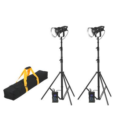CineCOB 180W 5600K 2-Light Kit