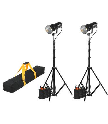CineCOB 500W 5600K 2-Light Kit