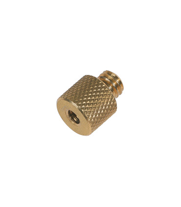 """Screw adapter 1/4"""" Female to 3/8"""" Male"""