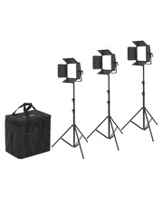 CineLED EVO 100W Bi-Color 3-Light Kit