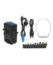 Dual V-Mount Multi Voltage Output Adapter - Package Content