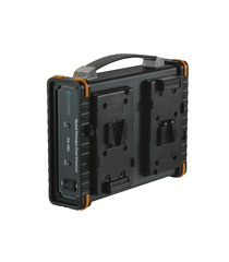 Quick Dual Battery Charger - V-Mount