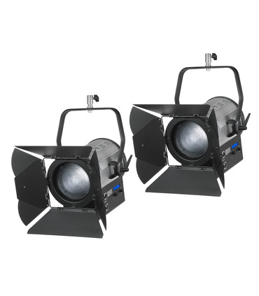 Pack 2 x Studio LED Fresnel 300W 5600K