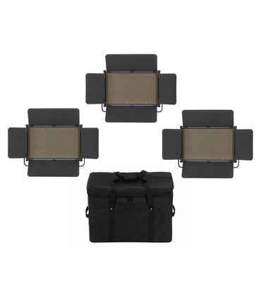 Studio LED Panel Lights 3 x CineLED EVO L Daylight